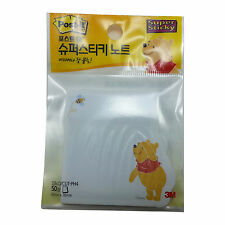 3M Winnie The Pooh Post-It Memo Pads Super Sticky Note/50 Sheets  SSN D/CUT-PH4
