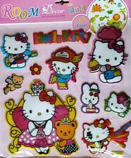 Hello Kitty  Wall Decals 3D Foam Stickers Kid's Room Decoration