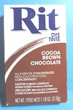 Rit Cocoa Brown Fabric Clothes Dye