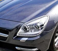 MERCEDES SLK R172 CHROME HEADLIGHT TRIM