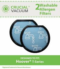 2 Hoover Windtunnel T-Series Washable Vacuum Pre Filters, Part # 303173001