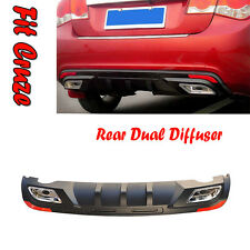 Chevy Cruze​ Rear Bumper Dual Diffuser spoiler Special Price New(Fit: 2009~2014)