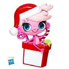 Licensed Minka with Santa Hat X-mas Tree Ornament PERSONALIZED LITTLEST PET SHOP