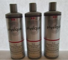 3-16OZ PHYSIQUE 2IN1 SHAMPOO CONDITIONER COLOR TREATED HAIR FREE SHIPPING US NEW