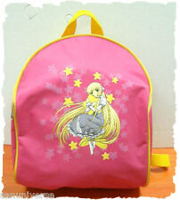 1 ZAINO BORSA/SHOULDER BAG PINK BACKPACK MANGA/ANIME CLAMP-ZAINETTO CHOBITS/CHII
