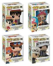 Funko POP! Luffy, Chooper, Grafalgar Law & Portgas D. Ace One Piece Vinyl Figure