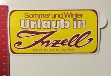 Aufkleber/Sticker: Sommer Und Winter - Urlaub In Inzell - Bay. Alpen (20031629)