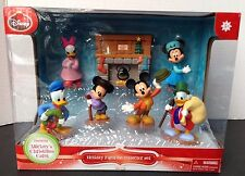 Mickey's Christmas Carol 7 Piece Holiday Figurine Collector Set DISNEY