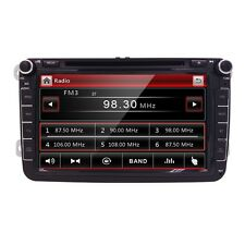 "GPS Car DVD Player for 8"" VW Volkswagen Skoda Golf GTI Navigation BT Radio SD"