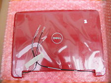 NEW DELL X608H  XPS M1210 Back Cover Top Lid Red