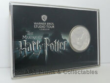 HARRY POTTER LONDON UK TOUR EXCLUSIVE - SILVER PLATED MEDALLION - MIB