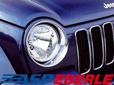 Scheinwerferringe Headlightcover Chrom Jeep Cherokee KJ 02-04