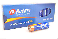10 x Rocket AA LR6 Mignon AL-Mn 1,5V 2900mAh Premiumbatterien bis 04/2021