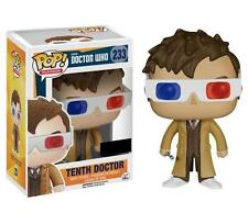 Doctor Who 10th Doctor with 3D Glasses Exclusive Pop! Vinyl Figure David Tennant