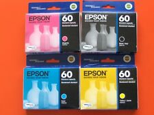 2016 Set Epson 60 T060 Inks T0601-T0604 TO60_CX3800 4200 4800 5800F 7800 C68,88