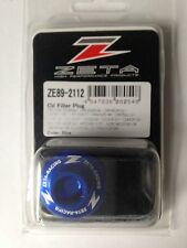YAMAHA  YZF250   YZF 250  YZ250F   2001-2016   ZETA OIL FILLER PLUG   BLUE