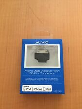 Auvio Micro USB Adapter To 30-Pin Connector