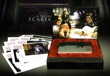 SCARFACE Deluxe Gift Set (DVD, 2003, 2-Disc Set) Brand New & Sealed & Complete !