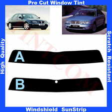 Pre Cut Window Tint Sunstrip for Rover 75 4 Doors Saloon 1999-2006 Any Shade