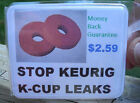 EASY FIX - STOP COFFEE LEAKS FROM REUSEABLE K CUP EKOBREW, SOLOFILL, CAFE KEURIG
