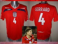 England Gerrard Shirt Jersey Football Soccer Adult L Liverpool Top 2008 Trikot