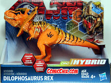 Jurassic World ~ Bashers & Biters ~ DILOPHOSAURUS REX HYBRID ACTION FIGURE