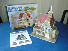 WREBBIT - PUZZ 3D - 16 LARKVIEW ROAD - 225 piece - jigsaw - complete