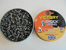 victory shock .177 air rifle pellets x 500 SAMPLE PACK