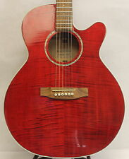 Takamine EG440C-STRY Acoustic Electric Guitar Red