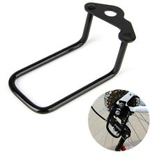 Cycling Bicycle Rear Gear Derailleur Protector Guard Steel Frame Bike Accessory