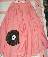 Size L womens handmade rock and roll record Halloween costume theatre vintage