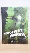 MSRNY PS4 Gravity Rush Remastered art comic book Chinese (No Game)  RARE!!