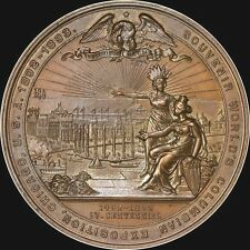 OUTSTANDING PROOF-LIKE 1892-93 COLUMBUS EXPO MEDAL NGC MS65 TONED EGLIT-55 EPN