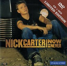NICK CARTER : NOW OR NEVER / CD + DVD (LIMITED EDITION) - TOP-ZUSTAND