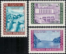 Afghanistan 1967 Dam/Hydro-Electric/Energy/Power Station/Buildings 3v set n29557