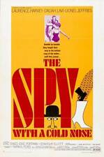 THE SPY WITH A COLD NOSE Movie POSTER 27x40 B Laurence Harvey Daliah Lavi Lionel