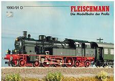 Fleischmann Gesamtkatalog 1990 / 1991, Preisetikett