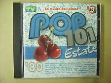 CD musica - POP 101 estate '80 compilation 14 brani