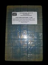 2 LBS ALOE VERA MELT AND POUR SOAP BASE  SOAP MAKING SUPPLIES