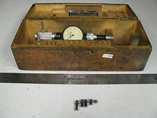 """Standard #2 Dial Bore Gage Set in case - 1 1/8""""- 1 3/16""""/ .0001"""" - FH37"""
