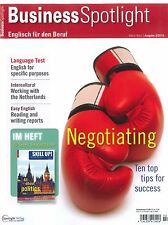 Business Spotlight, Heft 2/2015, Business-Englisch-Magazin +++ wie neu +++