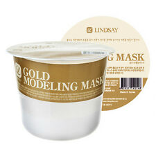 Lindsay Gold Modeling Mask w Free Konjac Sponge - Anti Aging and Revitalizing