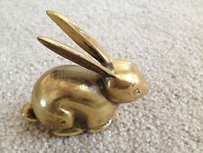 Vintage  Brass Rabbit Figurine