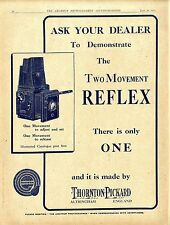 Thornton Pickard Altrincham England The two Movement Reflex Klapp- Kamera 1920