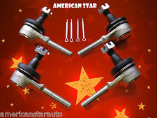 4 American Star Yamaha YFM 350 Warrior 87-04 Replacement Tie Rod Ends