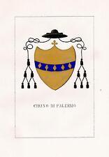 Araldica stemma araldico della famiglia Cirino di Palermo