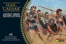 Greco antico Hoplites-GRANDINE Cesare-WARLORD GAMES - 1 ° CLASSE -