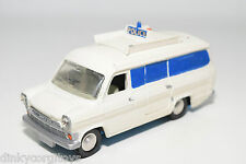 DINKY TOYS 287 FORD TRANSIT VAN POLICE ACCIDENT UNIT EXCELLENT CONDITION REPAINT