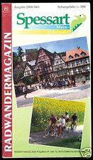 Radwandermagazin Spessart - Main - Odenwald, mit Reliefkarte, 2000