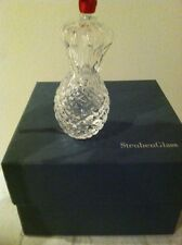 STEUBEN CRYSTAL COLLECTIBLE   PINEAPPLE ORNAMENT RETIRED MINT COND BAG & BOX
